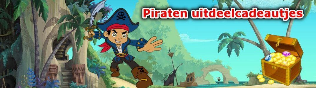 piraten uitdeelcadeautjes