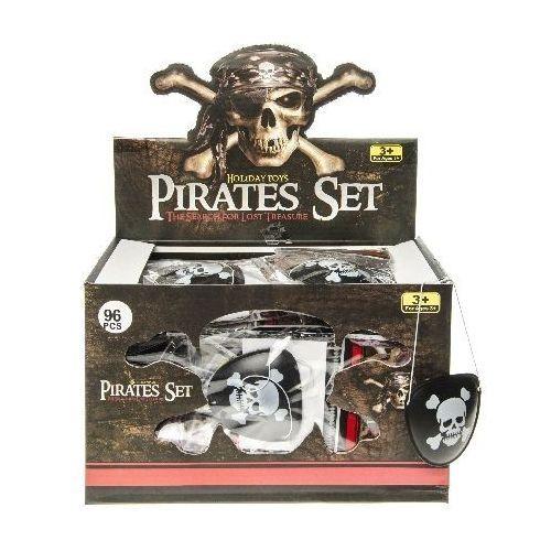 piratenooglapjes zwart met doodshoofd